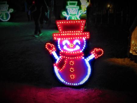 Glitter snowman 写真素材