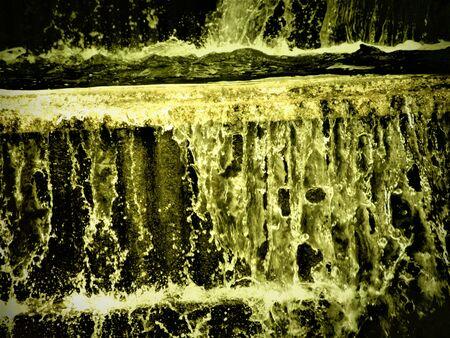 Yellow Fountain 写真素材