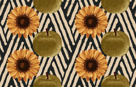 graphic about Sunflower Printable identify Inventory Example