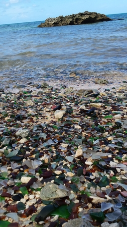 Glass on Sandglass Beach