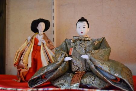 「ひな祭り」日本の人形