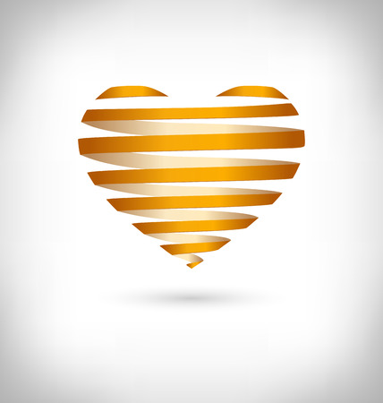squirm: Golden Spiral heart on grayscale background