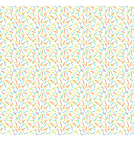Seamless bright abstract pattern isolated on white background photo