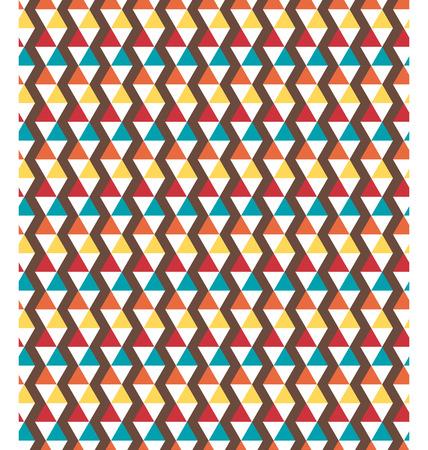 greet: Seamless bright fun geometric abstract pattern
