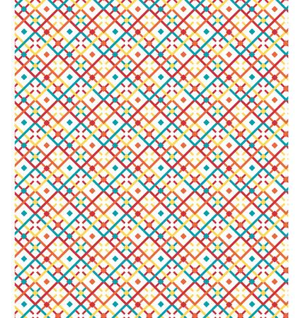 craft paper: Seamless bright fun abstract modern pattern