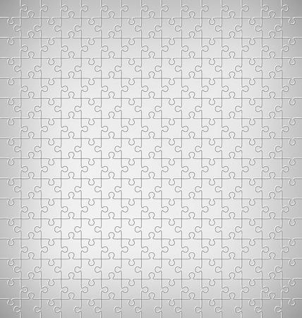 Jigsaw Puzzle Motif sur Niveaux de gris fond Banque d'images