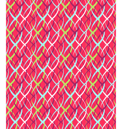 pigtail: Seamless Bright Fun Abstract Vertical Pigtail Pattern Stock Photo