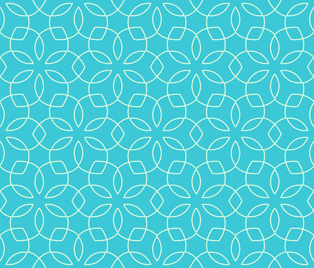 Seamless Bright Fun Abstract Spring Ornament Pattern