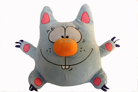 Cute soft toy cat