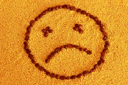 smiley on millet photo