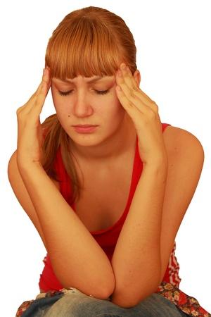 oppress: headache