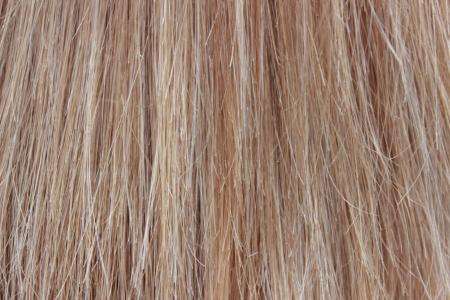 artificial hair:  hair as background