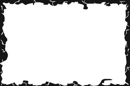 deckle: background framed by dark paper
