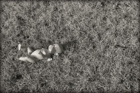 abandoned child