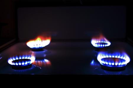 Fire in the Dark Stock Photo - 16905061