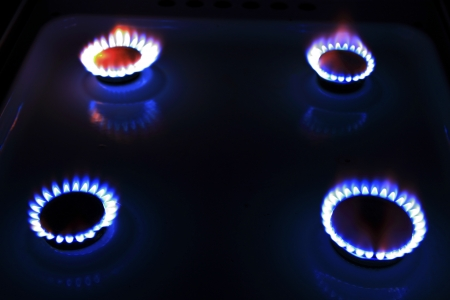 Fire in the Dark Stock Photo - 16905064