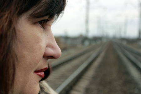 sad woman Stock Photo - 17456541