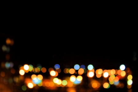 Night City Lights Stock Photo - 17263226