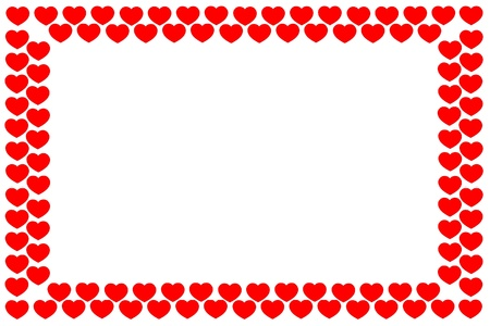 Background from hearts Stock Photo - 17314842