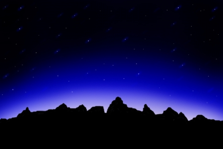 starry sky Stock Photo - 17576040