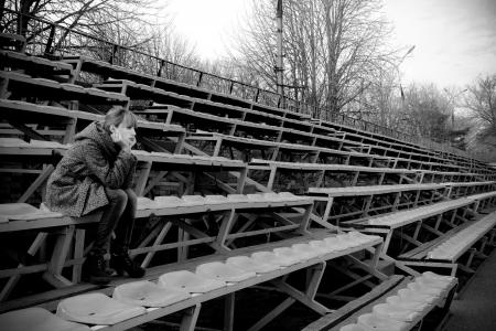 teenage problems: problemas de la adolescencia Foto de archivo
