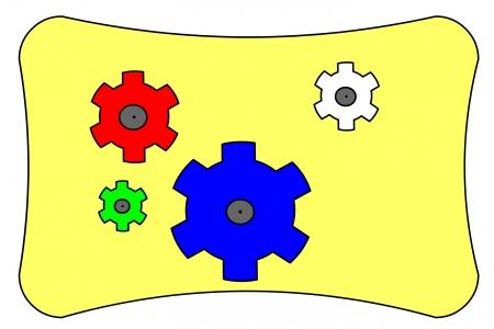icon button Stock Photo