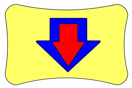 auxiliary: icon button Stock Photo
