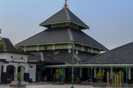 the grand mosque of Demak is one of the oldest mosques in Indonesia