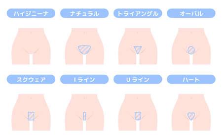 Underhair Design Variations