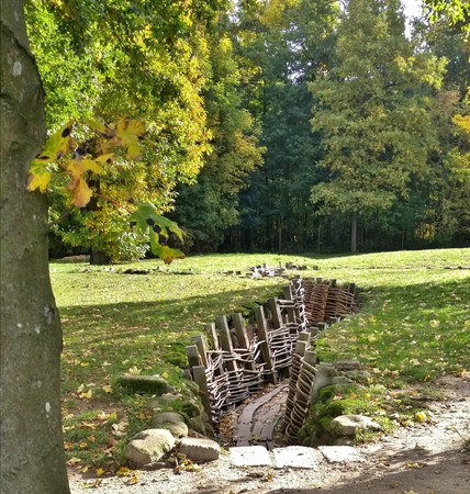 trench: World War trench