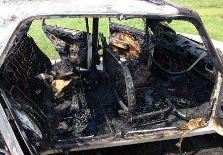 carcass: Burn-off car