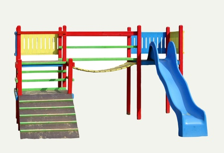 jungle gym Stock Photo