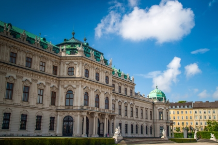 Belvedere Palace, Vienna, Austria  Stock Photo - 19942292