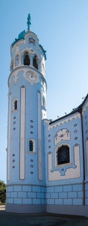 Church of Saint Elizabeth called as Blue Church, Bratislava, Slovakia
