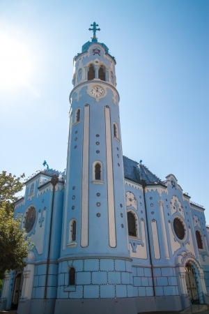 Church of Saint Elizabeth called as Blue Church, Bratislava, Slovakia  Stock Photo - 22146605