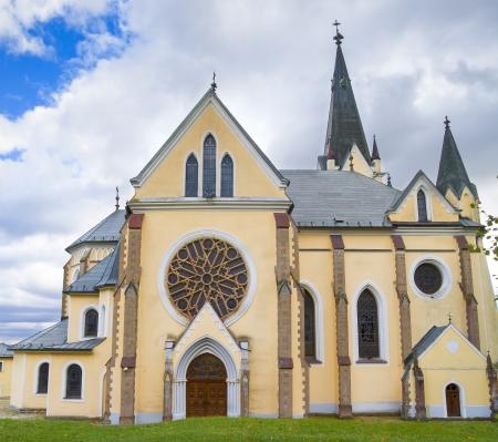 Levoca - basilica of Visitation of Virgin Mary, Slovakia Stock Photo - 23034854