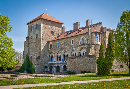 Medieval castle in TataHungary