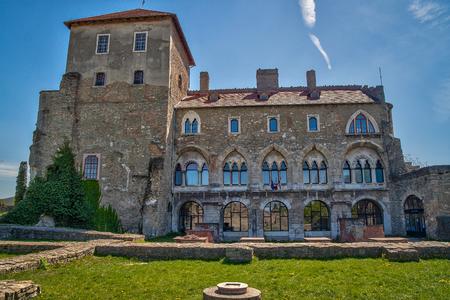 Medieval castle in TataHungary