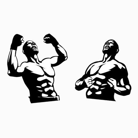 wrestling: fighter  Illustration