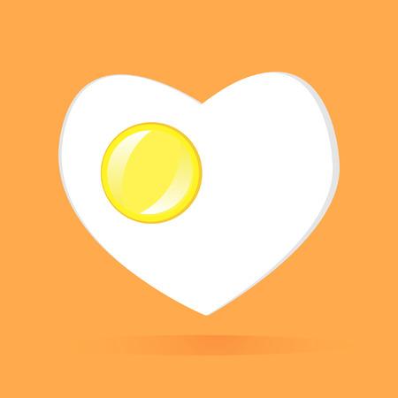 omelet: Vector - vector omelet Illustration