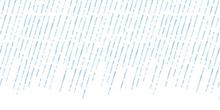Watercolor vector illustration background of heavy rain.