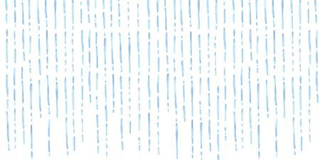Watercolor vector illustration background of falling rain.