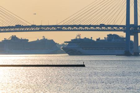 Yokohama port Banque d'images