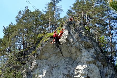 rescue service: mountain rescue service