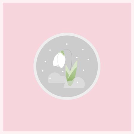봄 꽃 아이콘