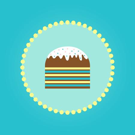 부활절 간단한 케이크