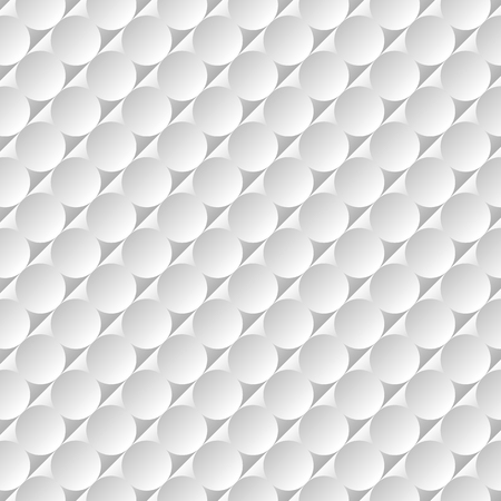 Modern abstract vector background. Round elements with gradient in gray and white colors.