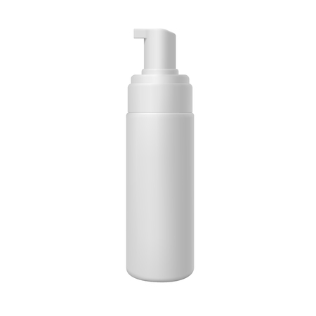 Cosmetic package on white background. Realistic template for your design.