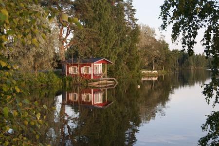 finland: Beach sauna