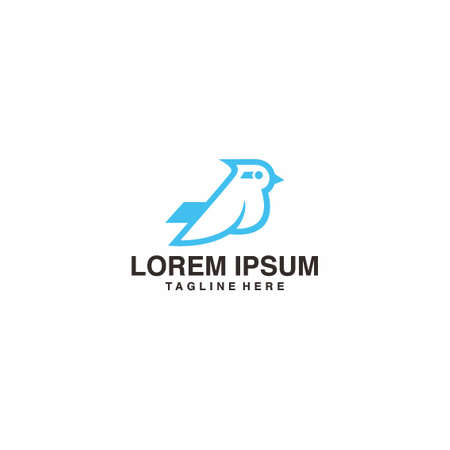 Bird Pigeon Logo Vector Icon Illustration